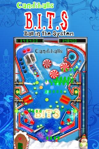 Screenshot B.I.T.S Pinball Candiballs Free
